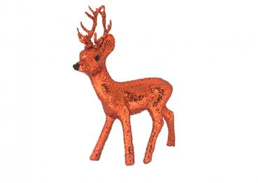 HIG01-Copper-Orange, Roebuck Glitter, 10 cm