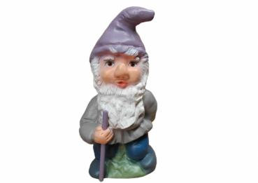 Garden Gnome in Pastell Autumn Colours